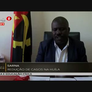 Sarna - Redução de casos na Huíla