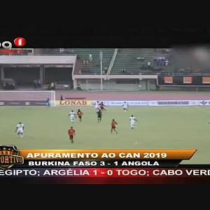 Angola perde 1-3 diante do B. Faso