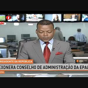 Presidente da República exonera conselho de administração da EPAL