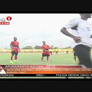 Palancas Negras já em Ouagadougou para o jogo contra o B. Faso