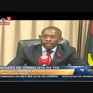 Agressão de Jornalistas da TPA - Presidente da Movangola reage