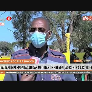 Governos do Bié e Moxico avaliam implementação das medidas de prevenção contra a Covid-19