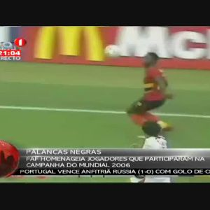 FAF homenageia jogadores que participaram na campanha do mundial 2006