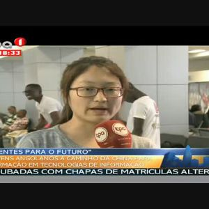 """3º Grupo de jovens angolanos a caminho da china """"Formação em IT"""""""