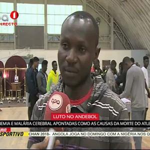 Luto no Andebol-Augusto Manuel Pehena vai a enterrar na Huíla