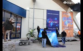 Os último preparativos para a abertura da FILDA