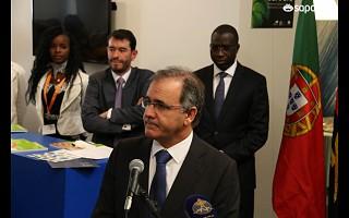 Ministro de Portugal na FILDA2014