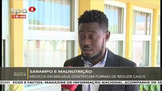 Me?dicos em Malanje - Identificam formas de reduzir casos
