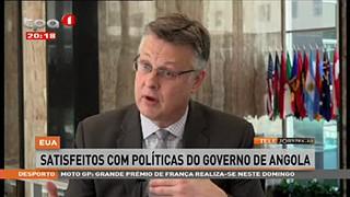 EUA - Satisfeitos com poli?ticas do governo de Angola