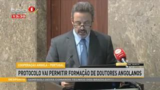 Cooperac?a?o Angola - Portugal - Protocolo vai permitir formac?a?o de doutores A