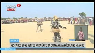 Eyele - Festa dos bons ventos para e?xito da campanha agri?cola no Huambo