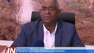 Presidente da Câmara considera que orçamento vai capacitar desenvolvimento do mu