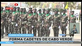 Academia militar de Benguela, forma cadetes de Cabo Verde