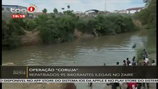 "Operac?a?o ""Coruja"" repatriados 95 imigrantes ilegais no Zaire"