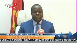 Energia no Cuando Cubango - 25 megawatts para o fornecimento em Menongue