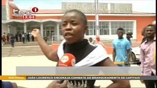 CFB-Passageiros denunciam revenda de bilhetes no Moxico