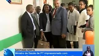 Ministro da Saúde de PT impresionado com organização e empenho dos profissionais