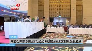 SADC preocupada com a situac?a?o poli?tica na RDC e Madaga?scar