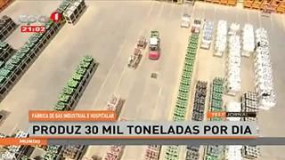 Fa?brica de metal produz 30 toneladas por dia