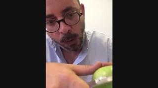 Cera polémica na fruta