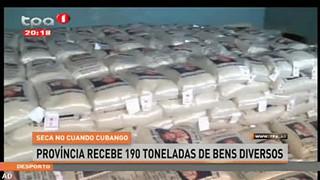 Seca no Cuando Cubango - Provi?ncia recebe 190 toneladas de bens diversos