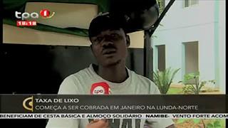 Moradores na Lunda-Norte va?o pagar mil Kwanzas pe recolha do Lixo