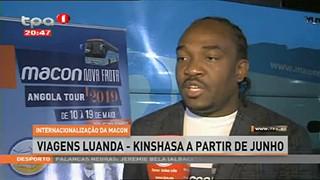 Internacionalizaca?o Macon - Viagens Luanda - Kinshasa a partir de Junho