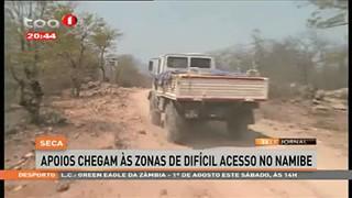 Seca - Apoios chegam às Zonas de difícil acesso no Namibe