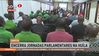 UNITA encerra Jornadas Parlamentares na Huíla