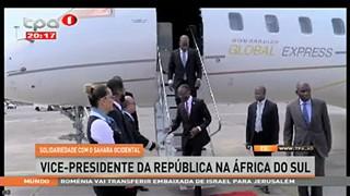 Solidariedade com o Sahara ocidental, vice-presidente da Repu?blica na A?frica d