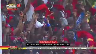 Girabola ZAP, 19ª jornada produziu apenas 13 golos em 8 jogos