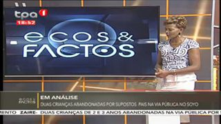 Em análise, duas crianças abandonadas por supostos pais na via pública no Soyo