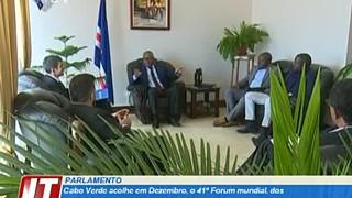 Cabo Verde acolhe em Dezembro, o 41º Forum mundial, dos Parlamentares pela Acçã