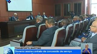 Governo assina contrato de concessão de serviço público com a Transinsular