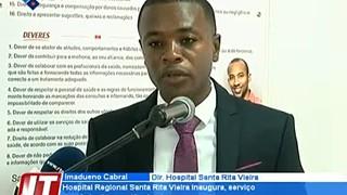 Hospital Regional Santa Rita vieira inaugura, serviço de admissão e gestão do ut