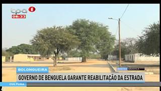 Bolongueira - Governo de Benguela garante reabilitac?a?o da estrada