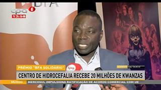 Centro de Hidrocefalia recebe 20 milho?es de Kwanzas
