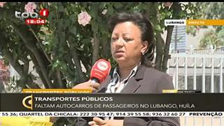 Transportes Pu?blicos  - Faltam autocarros de assageiros no Lubango