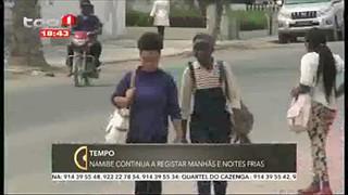 Tempo - Namibe continua a registar dia e noite frias