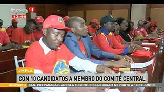 JMPA - Com 10 Candidatos a Membro do Comite? central