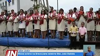 Missa solene na ilha Brava para celebrar São João Baptista
