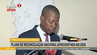 Reconciliac?a?o Nacional - Governador do Ui?ge apela os Angolanos a? unia?o