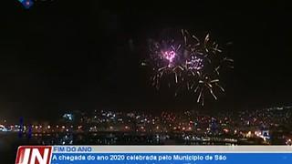 A chegada do ano 2020 celebrada pelo Município de São Vicente com um espectáculo