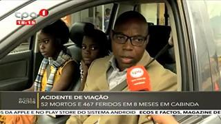Acidente de Viac?a?o 52 mortos e 467 em 8 meses em Cabinda