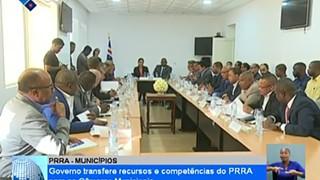 Governo transfere recursos e competências do PRRA para as Câmaras Municipais