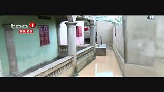 Chuva - Provoca Inundac?o?es na cidade de Cabinda