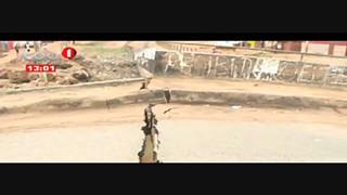 Chuva em Luanda-Provoca Desabamento da Ponte que liga o Bairro Popular ao Golf