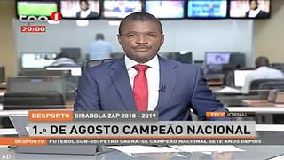Girabola ZAP 2018-2019 - 1º de Agosto campea?o nacional
