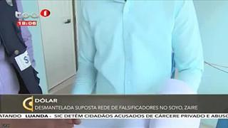Desmantelada suposta rede de falsificadores de Dólar no Soyo