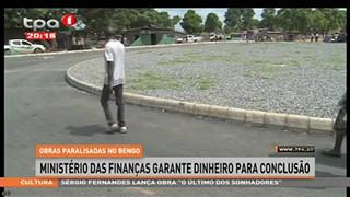 Obras paralisadas no Bengo, Ministe?rio das financ?as garante dinheiro para conc